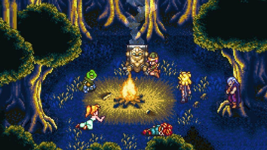 Pixel Art Game campfire chill